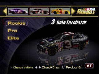 Screenshot Thumbnail / Media File 1 for NASCAR Rumble [NTSC-U]